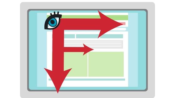 ¿Sabías que al leer en pantalla tu mirada dibuja una «F»?