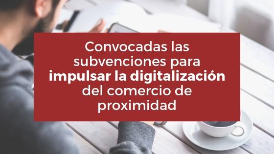 Convocan ayudas para digitalizar el comercio local de Galicia