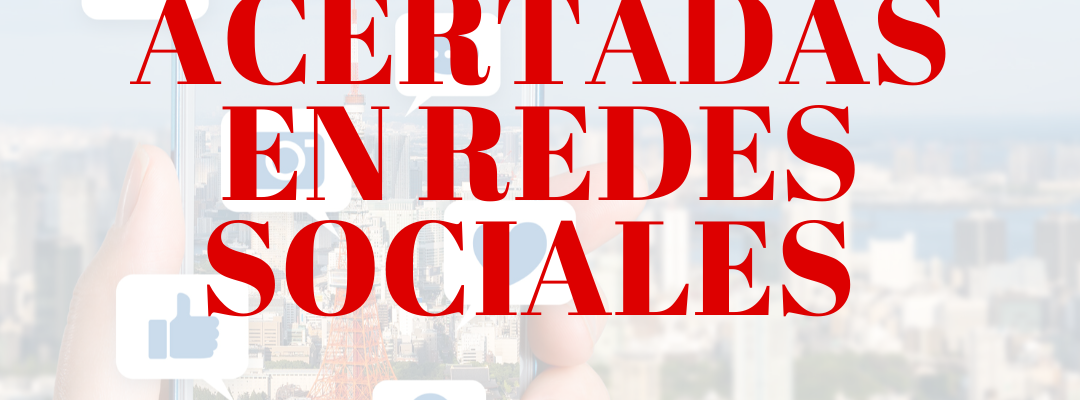 5 dinámicas acertadas en redes sociales