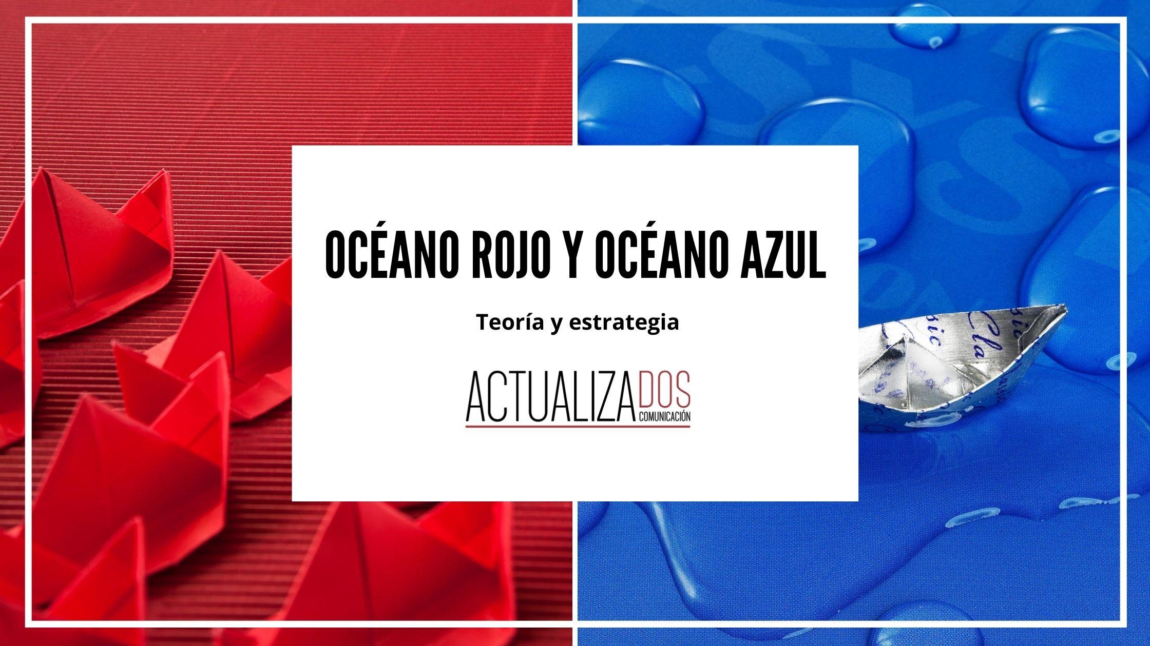 Océano Azul y Océano Rojo: ¿dónde prefieres nadar?